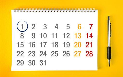 Calendario scolastico 2017/18 con momenti valutativi